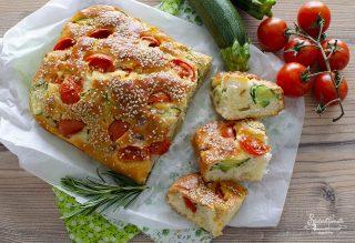 torta salata zucchine e pomodorini e zucchine ricetta