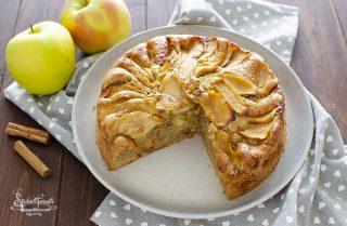 torta di mele integrale ricetta senza burro dolce colazione