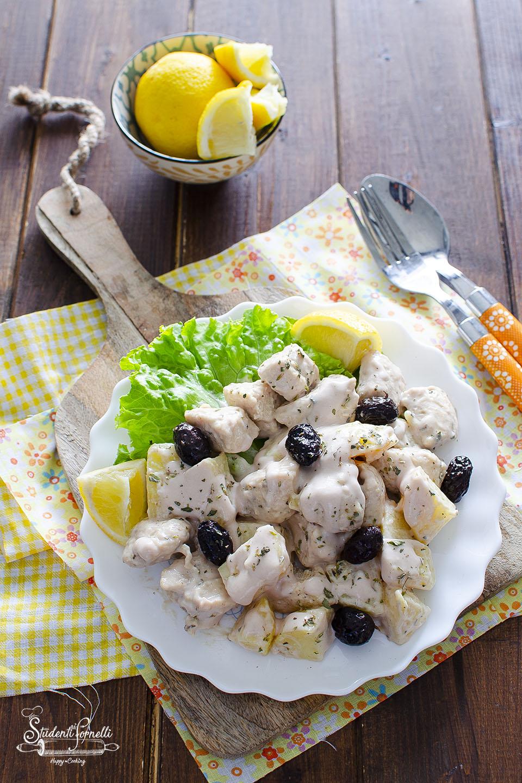insalata di pollo tonnata con patate lesse ricetta piatto unico