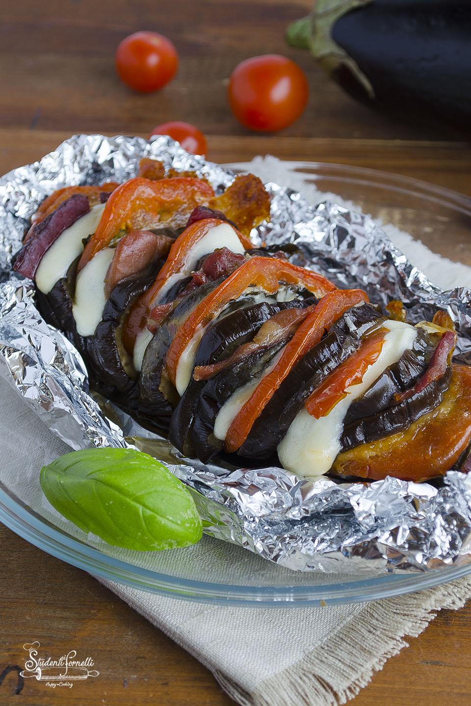 melanzane a fisarmonica ricetta melanzane ripiene secondo piatto