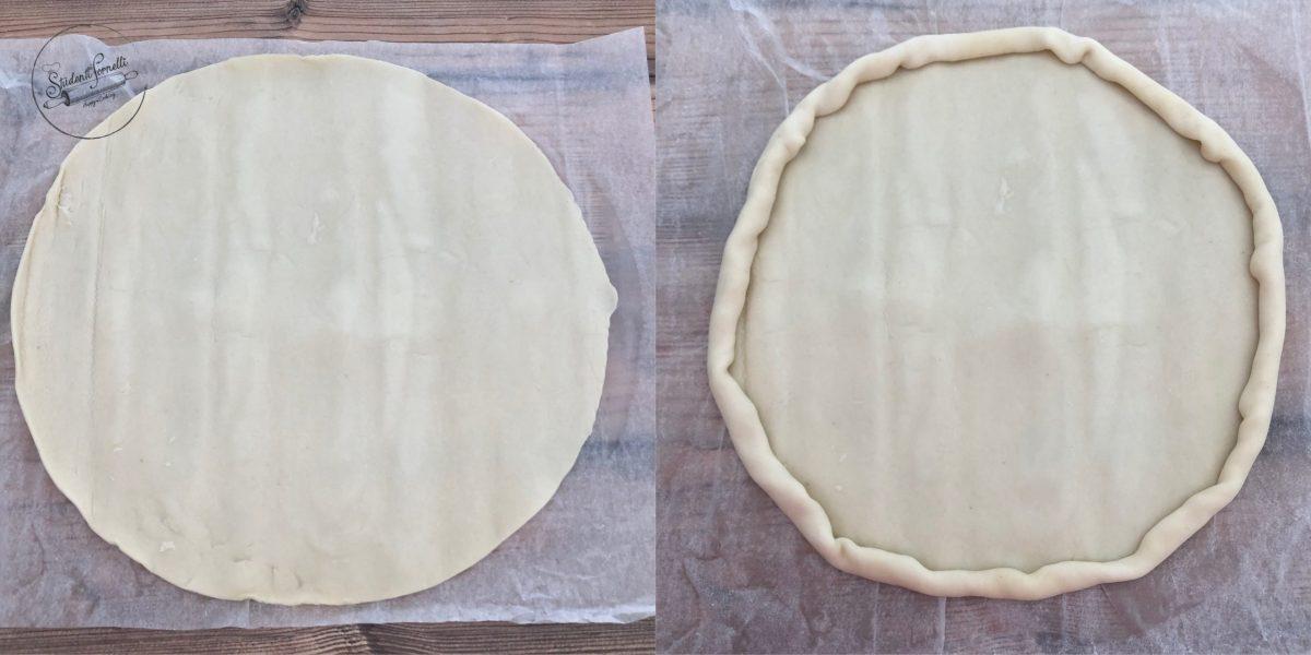 torta salata caprese ricetta sfoglia
