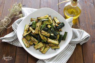 zucchine in carpione in friggitrice ad aria ricetta zucchine fritte