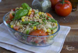 2020 insalata di farro fagiolini pomodori e patate ricetta primo