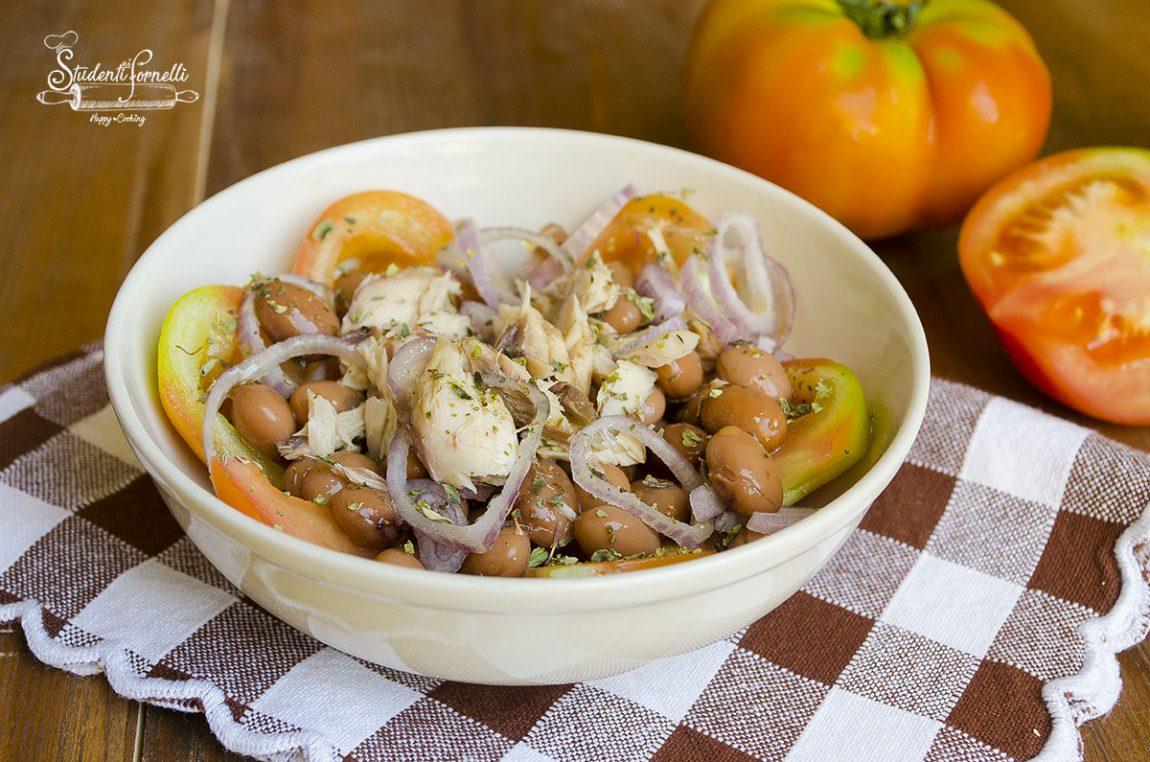 2020 ricetta insalata di tonno e fagioli e cipolle ricetta insalata estiva