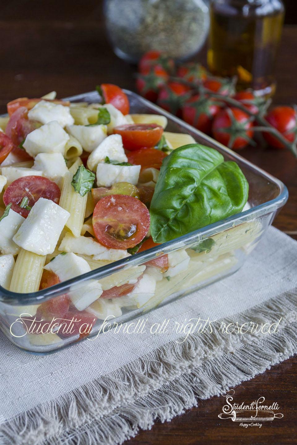 2020 pasta fredda pomodorini e mozzarella ricetta pasta alla caprese fredda