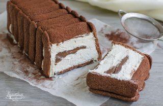 2020 torta gelato pavesini nutella