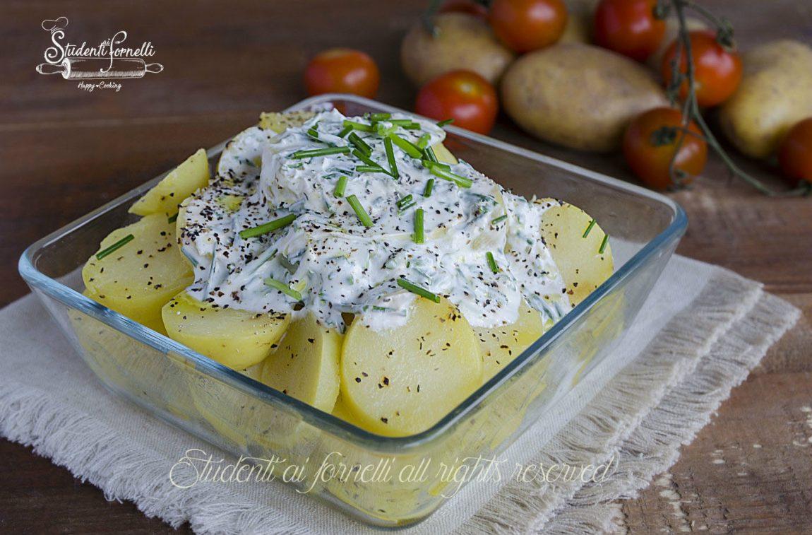 insalata di patate allo yogurt ricetta facile
