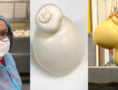 Al Caseificio Albiero alla scoperta della scamorza affumicata con latte 100% italiano
