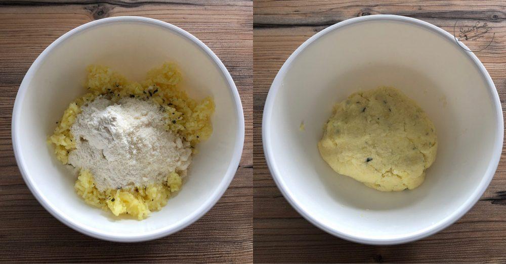 torta di patate in padella ricetta passo passo