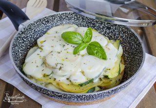 2020 ricetta parmigiana di zucchine e patate in padella ricetta secondo piatto