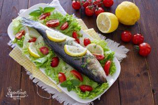 ricetta branzino alla griglia grigliato ricetta secondo piatto pesce