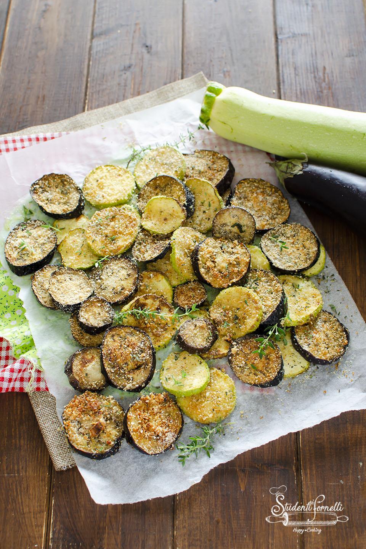 ricetta melanzane e zucchine gratinate al forno o in friggitrice ad aria ricetta contorno verdure