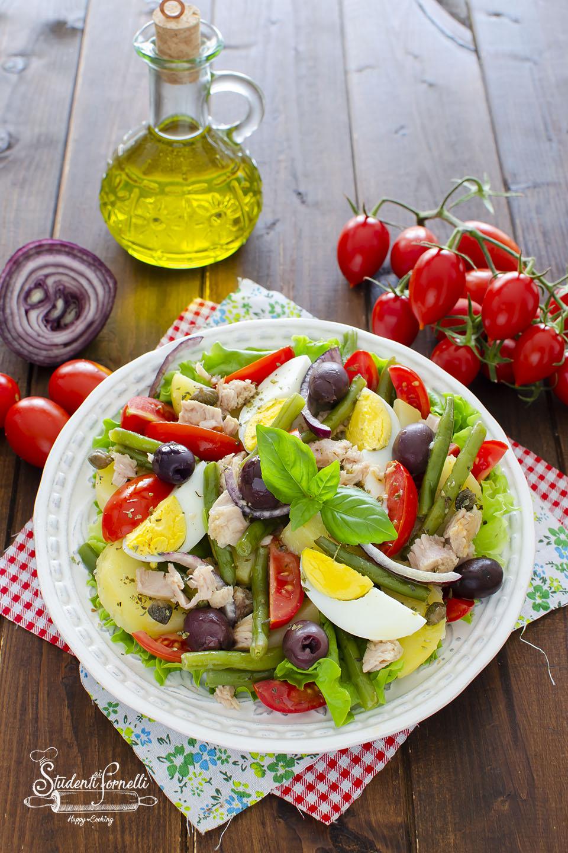 ricetta insalata nizzarda ricetta insalata con tonno fagiolini