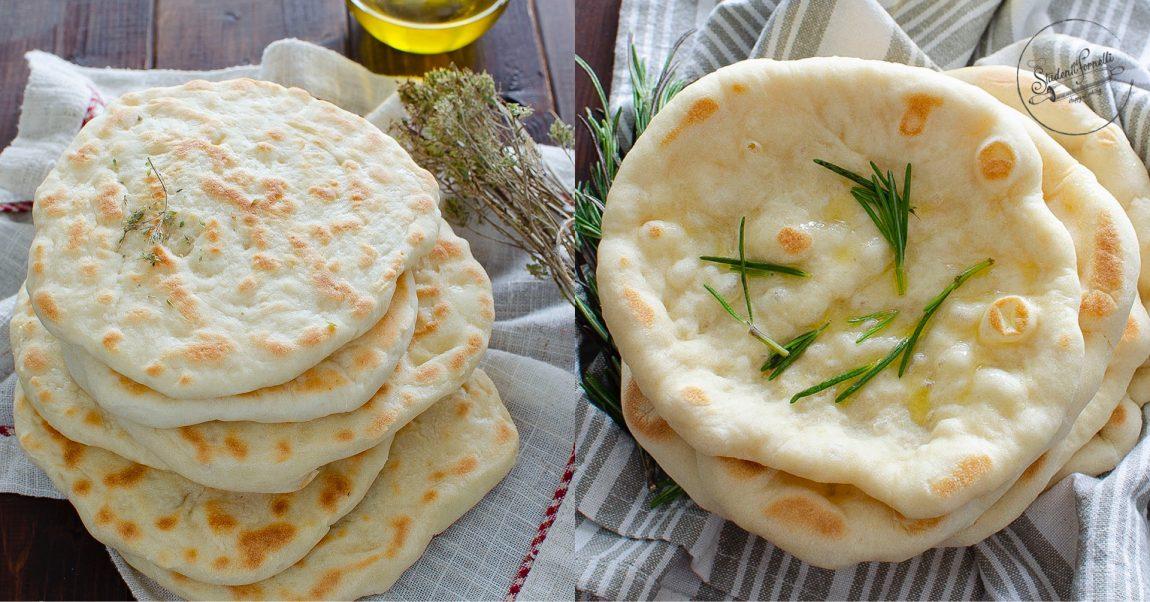 ricetta pane veloce in padella senza lievitazione