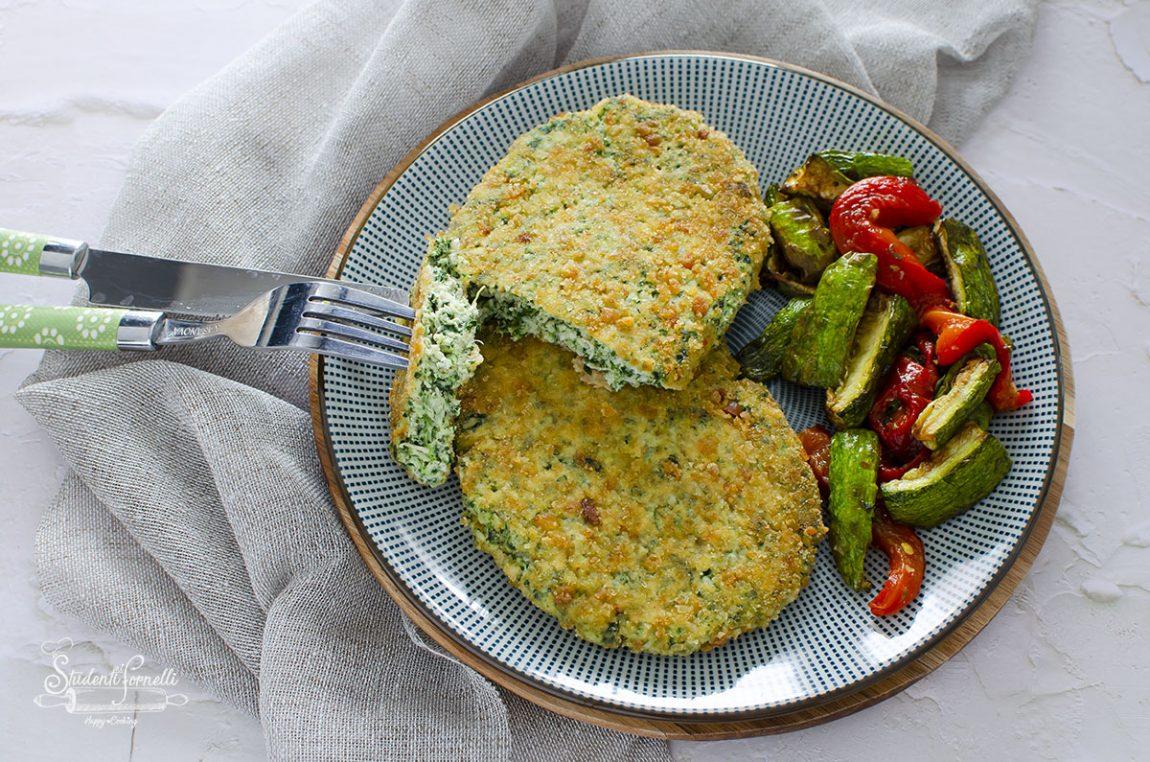 spinacine di pollo ricetta cotolette pollo e spinaci fatte in casa