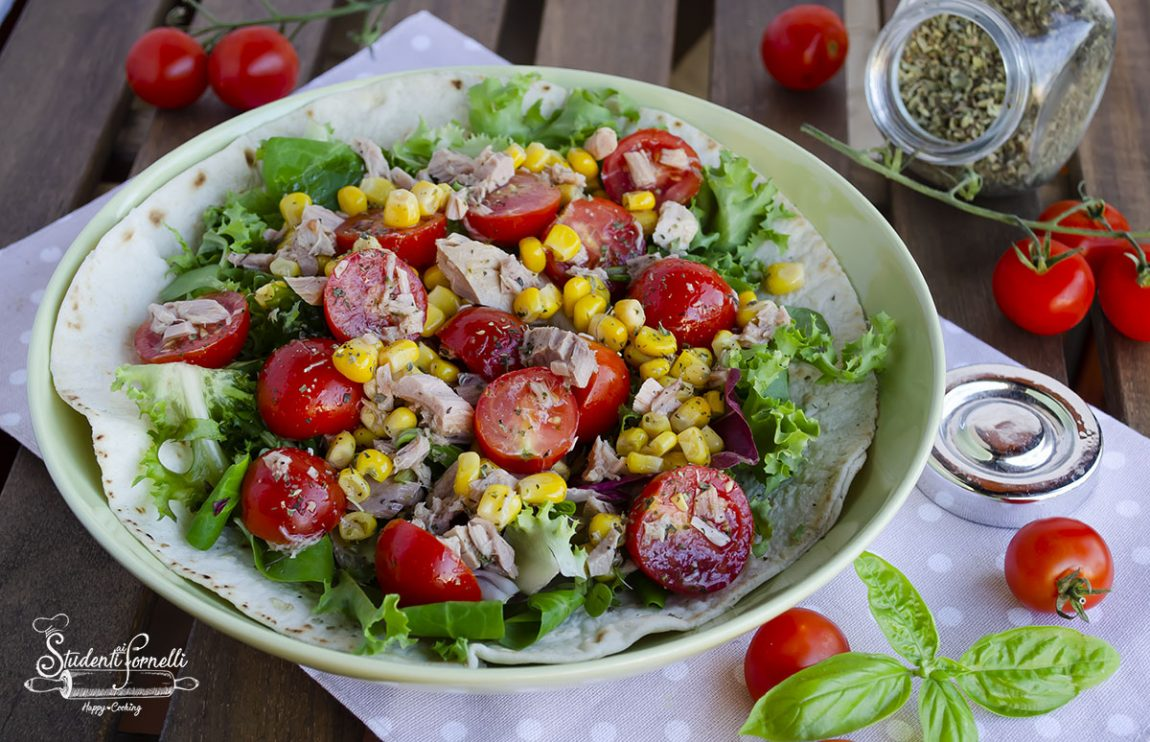 2020 piadina con insalata di tonno e pomodori ricetta piatto unico