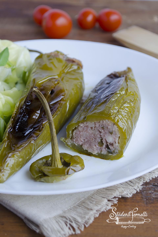 2020 peperoni ripieni di carne in padella peperoni verdi ricetta