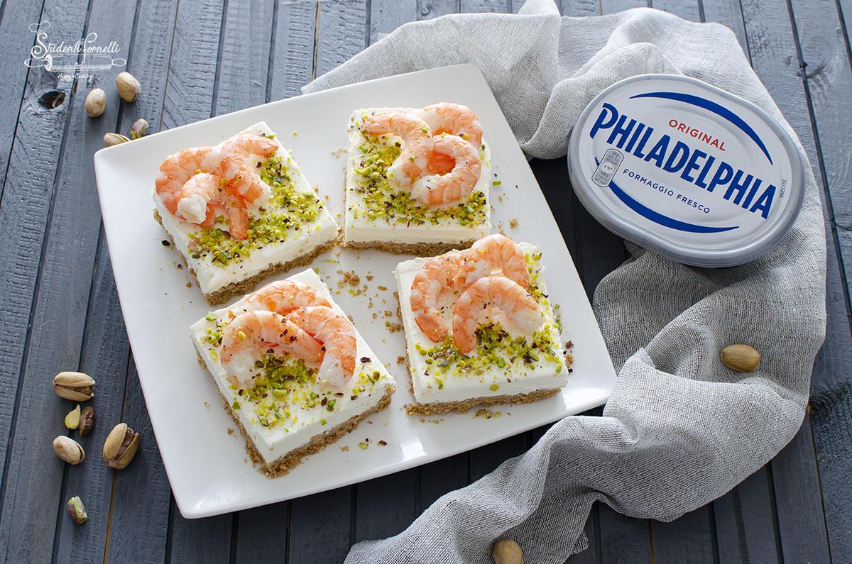 OK cheesecake salata gamberi e pistacchi_1