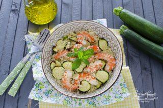 cous cous con zucchine e gamberi e zucchine ricetta primo