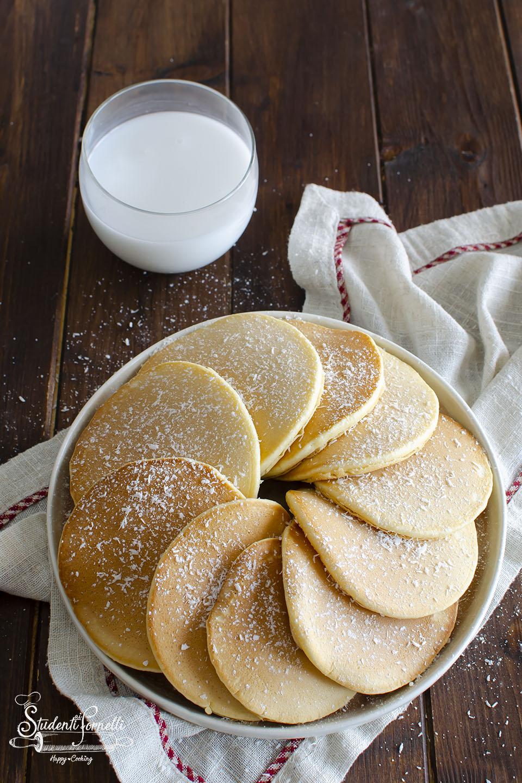 ricetta pancake al cocco con latte di cocco ricetta colazione