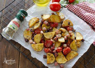 2020 pack ricetta patate con speck e pomodorini ricetta contorno