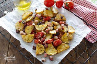 patate con speck e pomodorini ricetta contorno