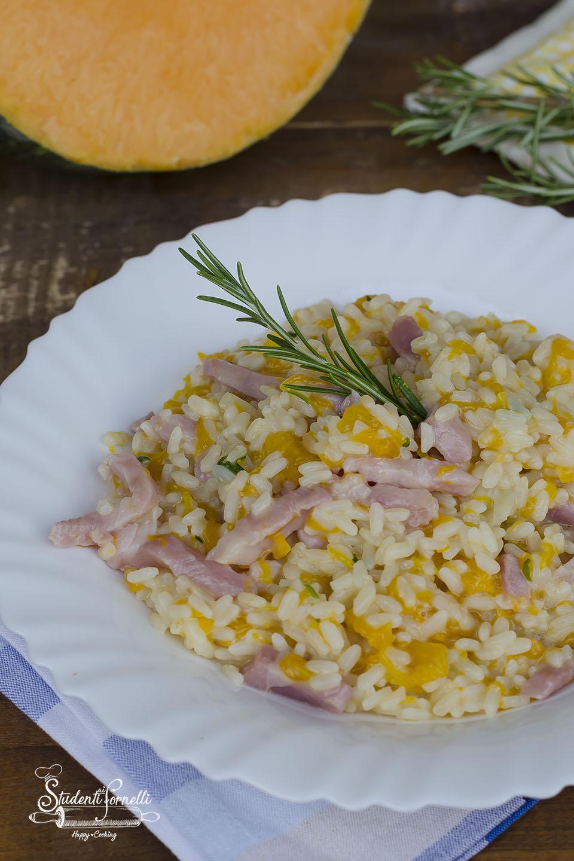 2020 risotto con zucca e pancetta brie ricetta primo