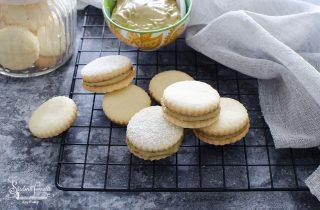 ricetta biscotti vaniglia e pistacchio con crema al pistacchio ricetta