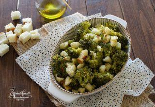broccoli gratinati con pane al peperoncino ricetta
