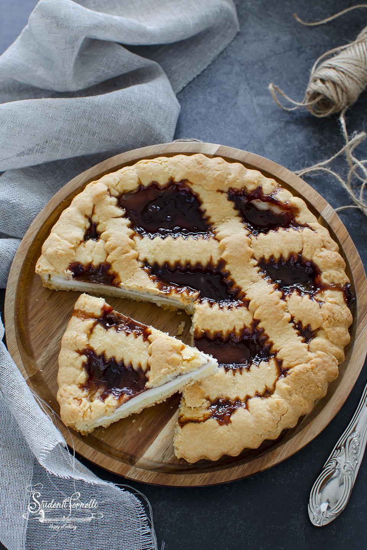 ricetta crostata ricotta e marmellata ricetta dolce