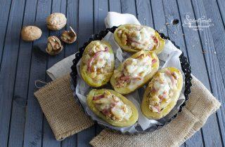 patate ripiene speck gorgonzola e noci ricetta