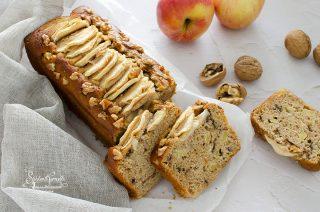 ricetta 2 plumcake ricotta e mele con noci ricetta dolce