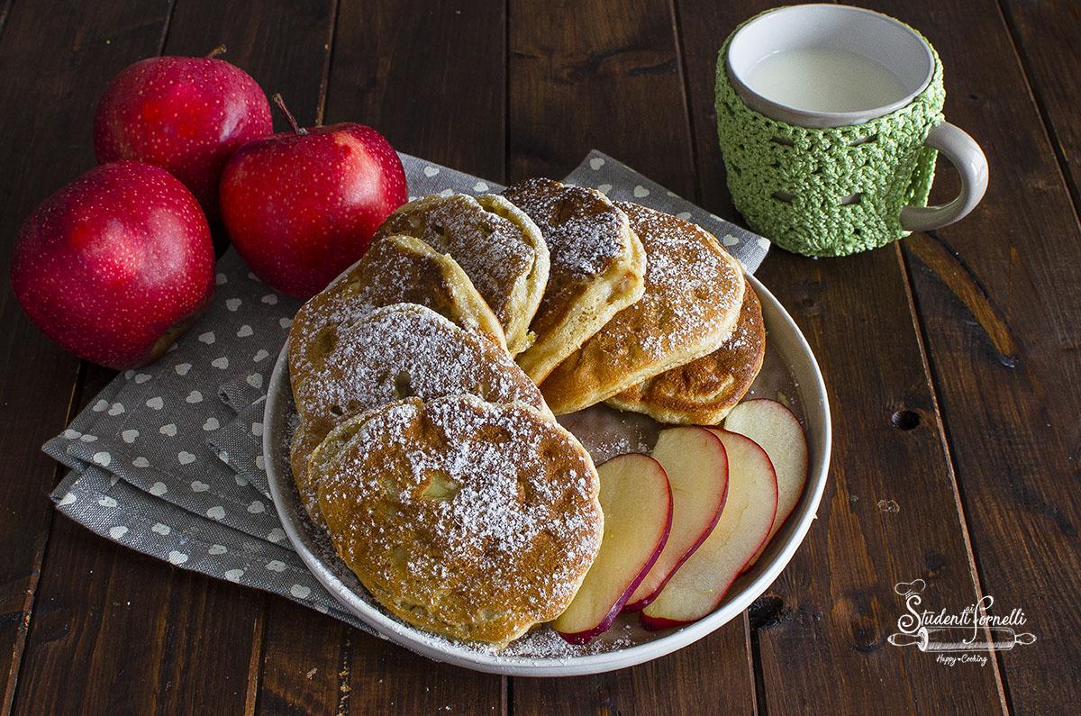 2020 pancake alle mele ricetta colazione