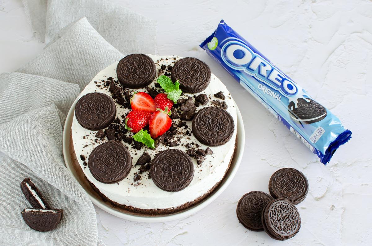 Ricetta Cheesecake Oreo Giallo Zafferano.Cheesecake Oreo Ricetta Per Fare La Cheesecake Oreo