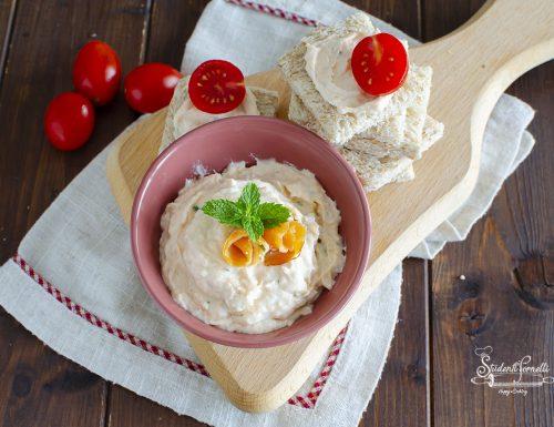 CREMA AL SALMONE per Tartine, Antipasti, Condimenti