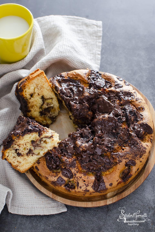 ricetta torta alla banana e cioccolato senza burro ricetta dolce