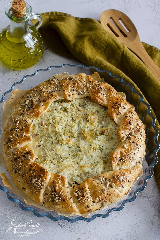 torta rustica con cavolfiori e broccoli ricotta ricetta