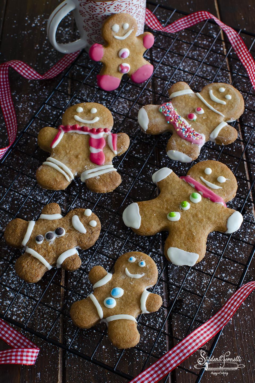 ricetta gingerbread biscotti pandizenzero di natale dolci