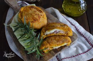 ricetta cordon bleu di zucca prosciutto e scamorza ricetta cotolette di zucca