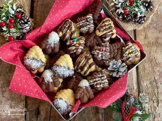 biscotti natalizi con frolla montata ricetta 2