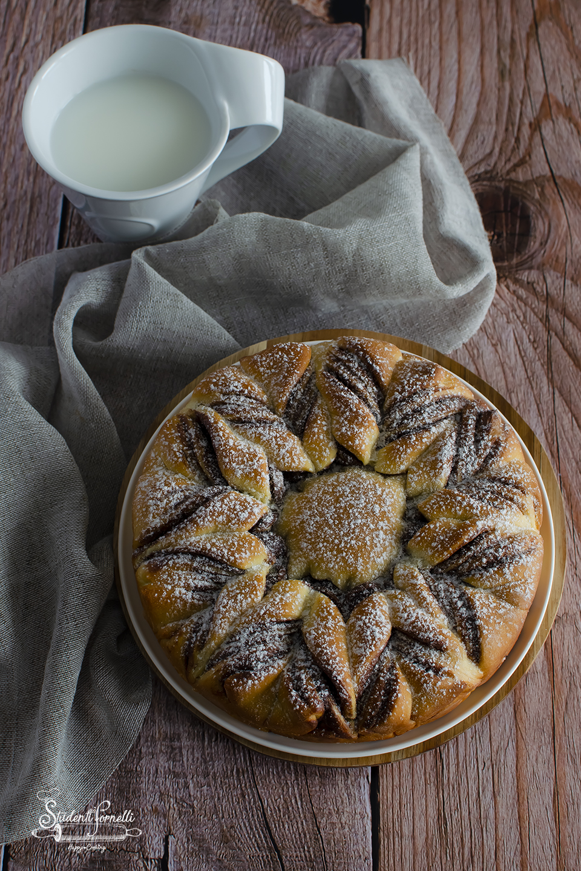IG 2 pan brioche fiocco di neve alla nutella fiore
