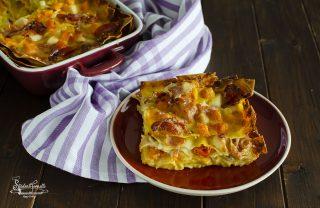 ricetta 2 lasagne zucca e speck ricetta primo piatto