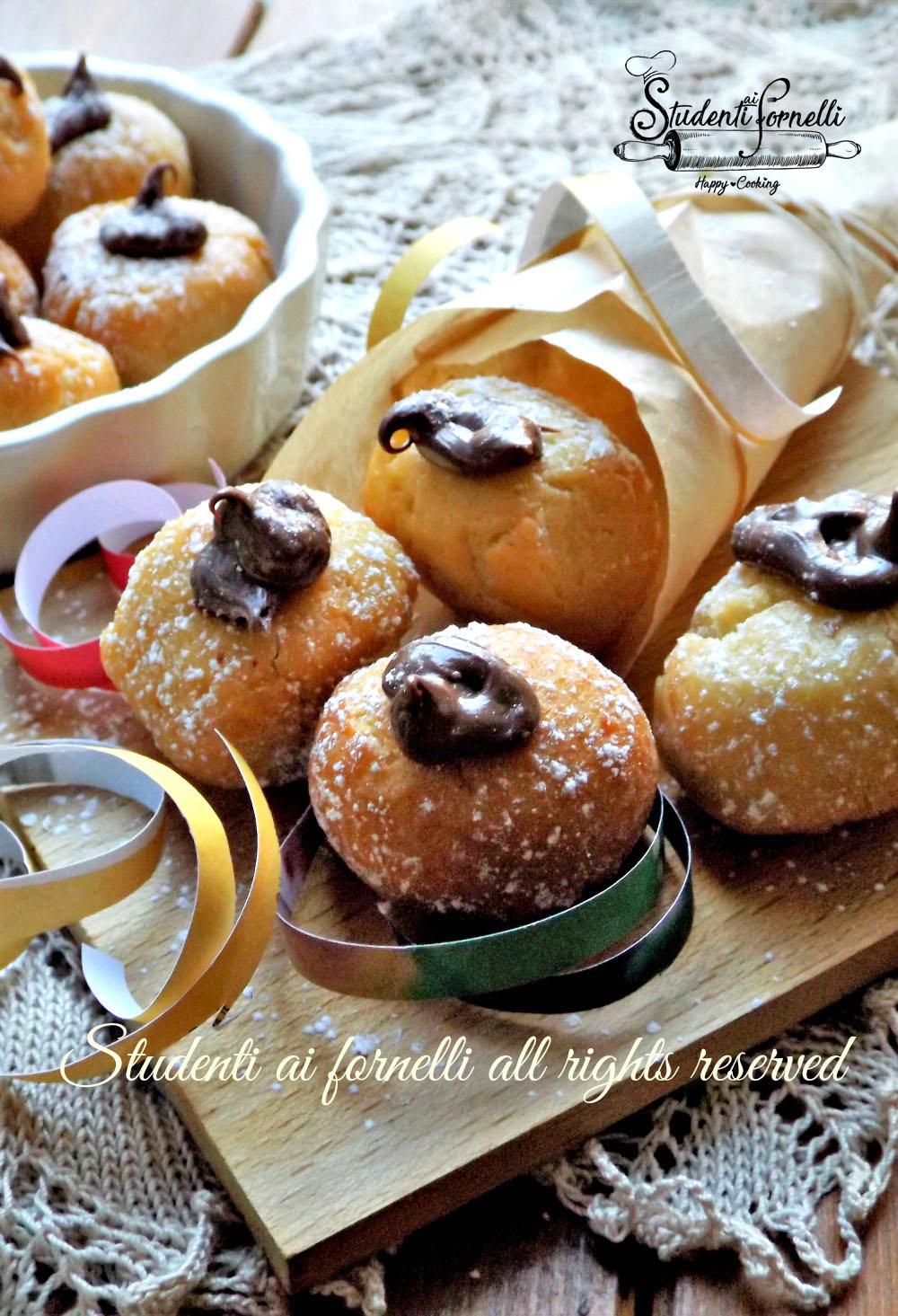 2020 castagnole alla nutella morbide ricetta dolce di carnevale