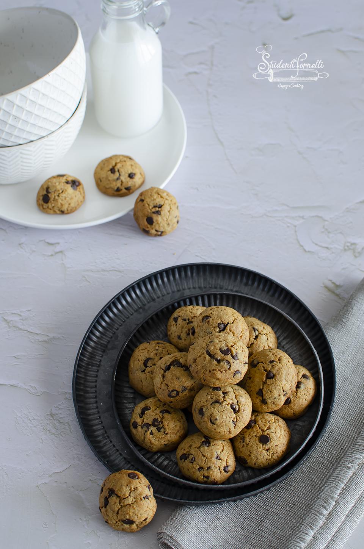 ricetta cookies al cocco e cioccolato ricetta cookies senza burro