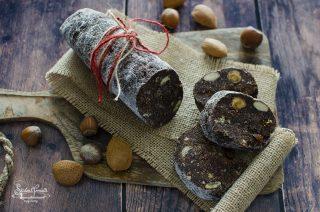salame di panettone al cioccolato ricetta dolce natale