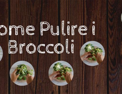 COME PULIRE I BROCCOLI