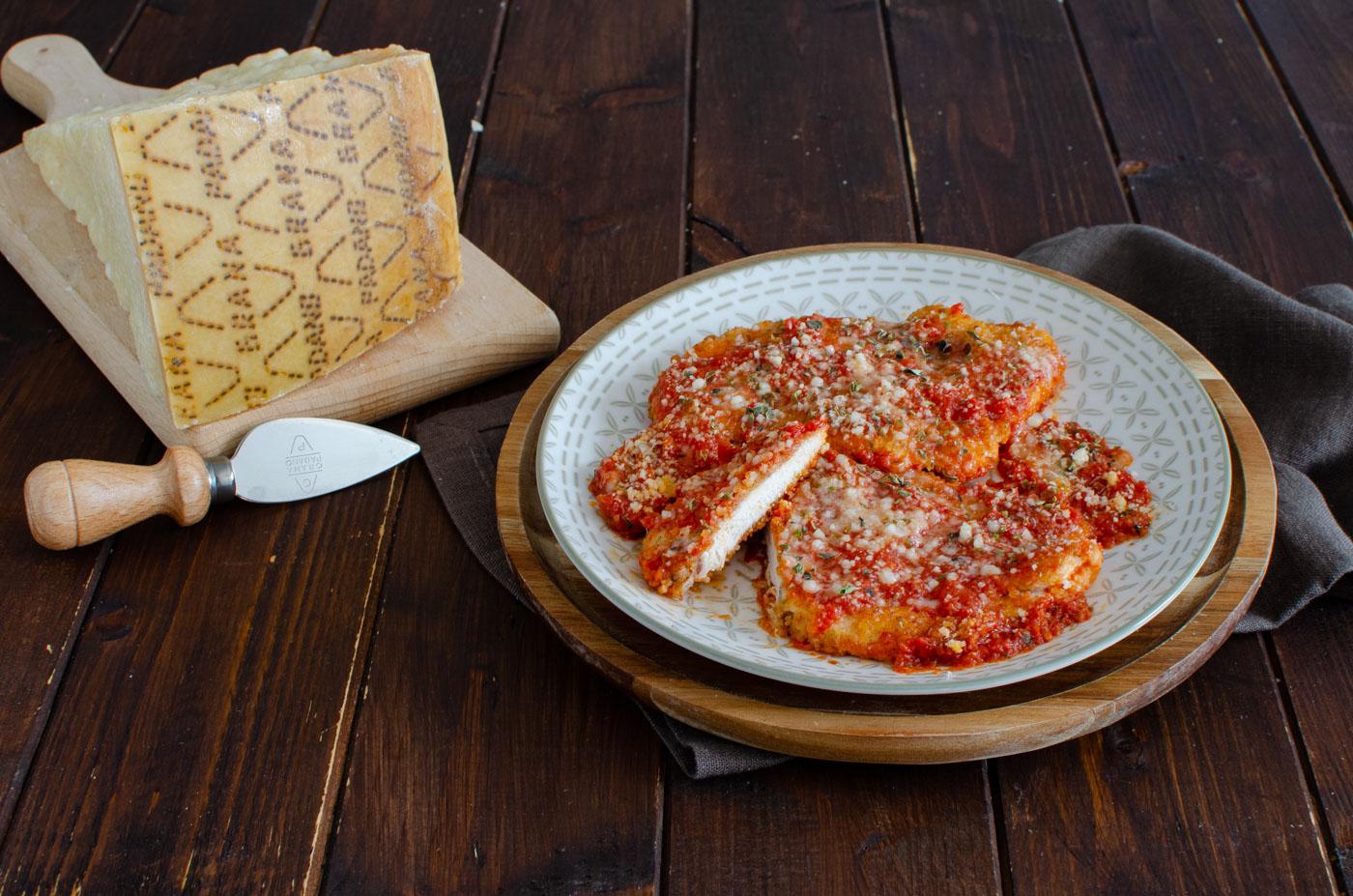 cotolette alla pizzaiola