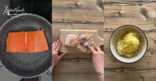frittata salmone e patate ricetta 3