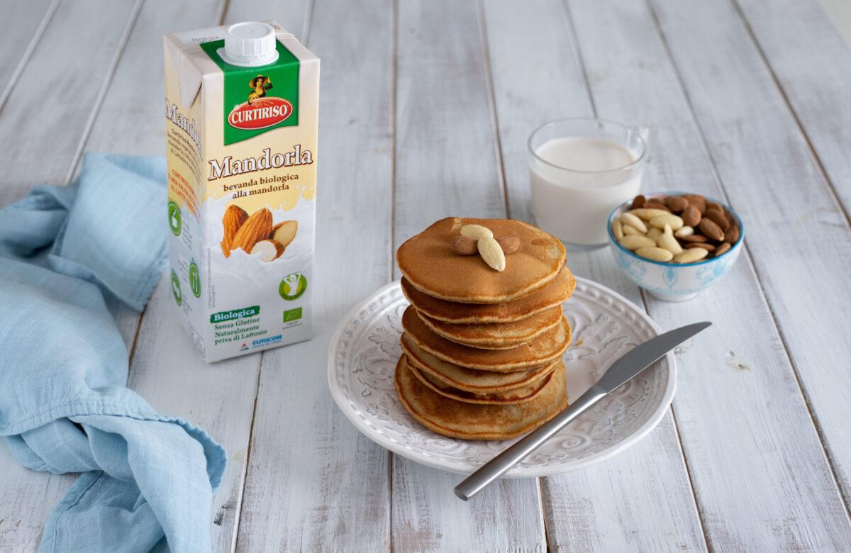 pancake alle mandorle senza burro pancake senza lattosio
