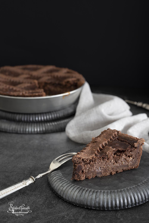pastiera al cioccolato ricetta dolce di pasqua
